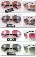 BRAND NEW FAMOUS POLICE SUNGLASSES 8825 w/FASHIONAL POUCH