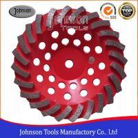180mm diamond turbo cup wheel