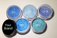 Private Label Cosmetics Service - Mineral Eye Shadow - Create your cosmetics line !