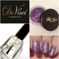Purple Nail Polsih from Da Vinci Cosmetics