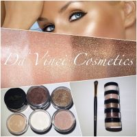 Da Vinci Cosmetics Ivory Rush Shadow -2-in Glittery or Matte Shadow.