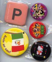 Sell various designs badge