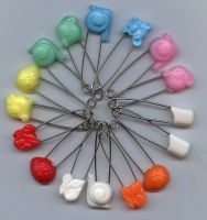 Sell Animal-shape and flat-head diaper pin