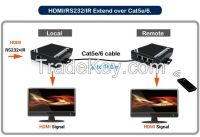 HDMI Chainable Multiple Mixing Signals output Extender over Network