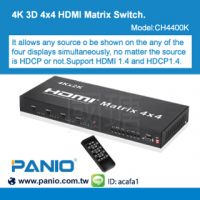 4PORT HDMI Matrix Extender