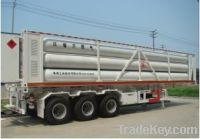 Sell 8 Tubes CNG Trailer