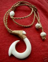 Hawaiian Surf Fish Hook & Polynesian Pendants