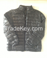 Men's light weight down jacket