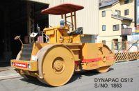 "USED  ""DYNAPAC"" MODEL CS12 MACADAM ROLLER S/NO. 1863 (2199 HOURS)"