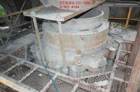 USED OTSUKA MODEL CC-1300 CONE CRUSHER S/NO. 4184