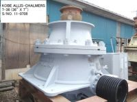"""USED  KOBE ALLIS-CHALMERS 7-36 (36"""" X 7"""") HYDRO CONE (EXCONE) CRUSHER"""