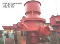 """USED """"KOBE"""" ALLIS-CHALMERS 9-45 (45"""" X 9"""") HYDRO CONE (EXCONE) CRUSHER"""