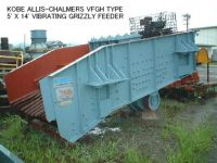"""USED """"KOBE"""" ALLIS-CHALMERS VFGH TYPE 5' X 14' VIBRATING GRIZZLY FEEDER"""