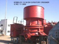 "USED ""KOBELCO"" 13-54 (54"" X 13"") DH GYRATORY CRUSHER S/NO. 11-3690"