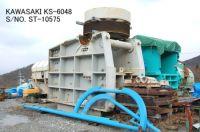 "USED KAWASAKI MODEL KS-6048 (60"" X 48"") SINGLE TOGGLE JAW CRUSHER"