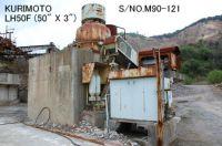 "USED ""KURIMOTO"" LH50F (50"" X 3"") HYDRAULIC CONE CRUSHER S/NO. M90-121"