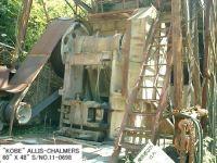 USED KOBE ALLIS-CHALMERS 48-60ST SINGLE TOGGLE JAW CRUSHER