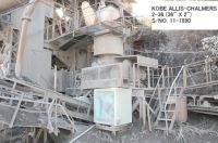 """USED """"KOBE"""" ALLIS-CHALMERS 2-36 (36"""" X 2"""") HYDRO CONE (EXCONE) CRUSHER"""