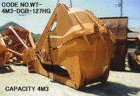 CODE NO. WT-4M3-GDB-127HG (CAPACITY 4M3) DREDGING GRAB BUCKET
