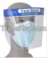Disposable Anti-fog Splash Face Shield