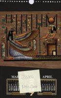 sell calendar , egyotian papyrus calendar  wall and desk