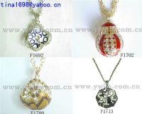 fashion alloy cz stone necklace jewelry