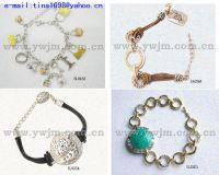 Sell fashion alloy cz stone bracelet Jewelry