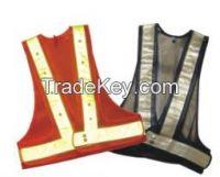 Flash Led Reflective Safety Vest