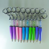 Crystal Mini pen with keychain