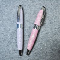 Leather Mini ballpoint pen for promotion