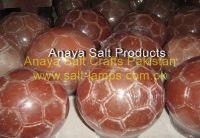 Himalayan Football Shape Salt Diffuser/ Himalayan Crystal Rock Salt Crafted Lamps/Himalayan Pin k Rock Salt Lamps