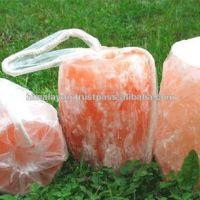 Natural Rock Salt Lick Stone for Horses with Ropes/Himalayan Natural Pink Rock Salt for Animals/Himalayan Natural Animal Lick Salt