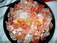 Himalayan Natural Pink Rock Salt Chunks 3-7cm, Himalayan Pink Rock Salt Granules, Powder and Chunks/ Himalayan Crystal edible & cooking salt/ Black & Pink Salt Chunks from Himalayas