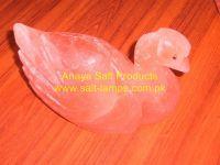Himalayan Duck Shape Crystal Salt Lamps/Himalayan Animal & Fancy Salt Lamps/Himalayan Crafted Animals and Fancy Salt Lamps/Himalayan Crystal Rock Salt Lamps/Himalayan Salt Diffuser and Ionizer Lamps