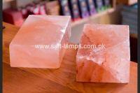 """Himalayan Crystal Rock Salt Tiles, Bricks, Blocks and Cooking Slabs (8"""" x 4"""" x 2"""")"""