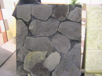 Slates, basalt garden stones