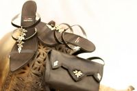 Sell shoes with matching handbags