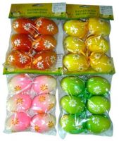 Sell easter decoration colors eggs and chickling