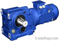 Sell Helical bevel gear reducer