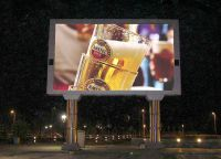 Sell P22 outdoor full color advertising led display
