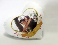 Premium soft Pillow Case, Heart shape, HT095