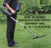 Underground Metal Detector, underground gold detector, silver detector manufacturer, modelSU838D
