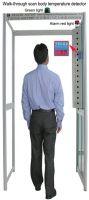 Walk-through virus & Flu Body fever detector gate, clinical thermometer gate, Ebola/Zika/MERS/H1N1/H7N9 & H3N2 flu body fever thermometer