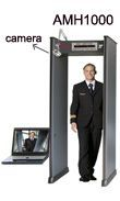 18-Zone Walk-Through Metal Detector Gate with camera, metal detector door manufacturer