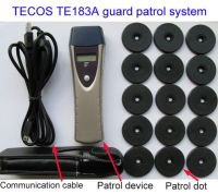 Guard patrol clock, Guard Patrol System, Guard tour System Manufacturer, modelTE183A