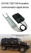Cell jammer, Wireless Bomb Signal Jammer, Communication & bomb Jammer manufacturer, modelTSD110A