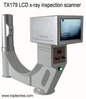 Hand-held x-ray screening scanner, portable x-ray machine manufacturer, modelTX179
