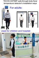 Ebola scanner, walk-through body clinical thermometer, Ebola virus & Zika virus & MERS virus & H1N1 & H7N9 & H3N2 flu body fever thermometer