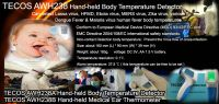 Ebola virus desease & flu fever medical thermometer, forehead thermometer, Ebola scanner, child thermometer
