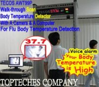 Walk-through body Clinical Thermometer Door with A Camera, virus & flu body temperature thermometer tester manufacturer
